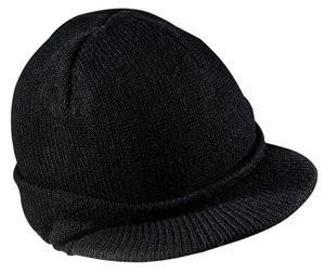Black Toboggan Hat