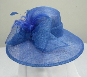 Blue Church Hats