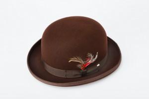 Brown Derby Hat