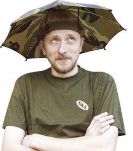 Camo Umbrella Hat