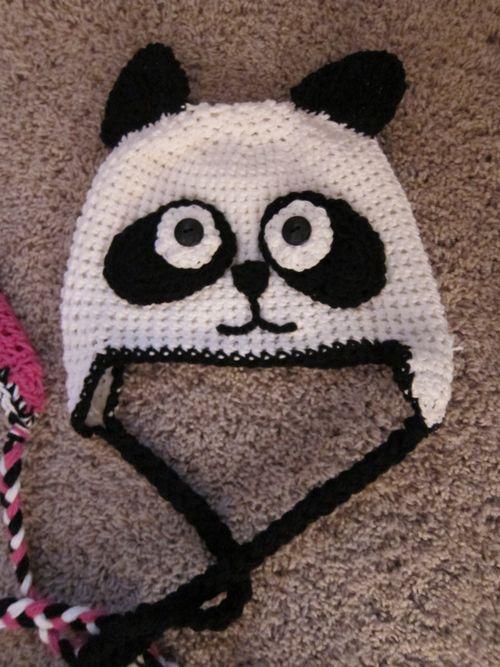 Free Crochet Baby Panda Hat Pattern : Panda Hats ? Tag Hats