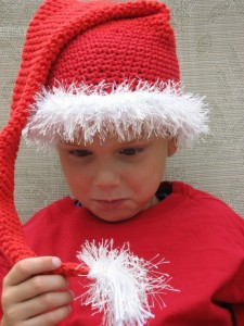 Crochet Santa Hat Images