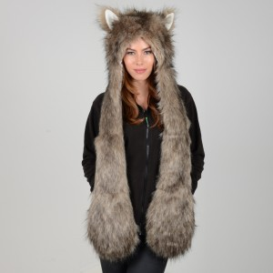 Faux Fur Animal Hats