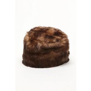 Faux Fur Pillbox Hat