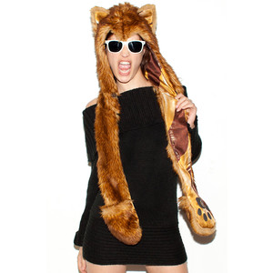 Fur Animal Hats