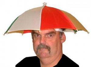 Hat with Umbrella