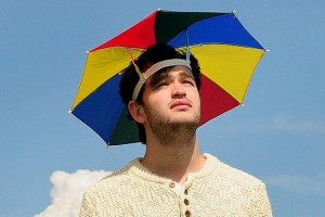 Head Umbrella Hat