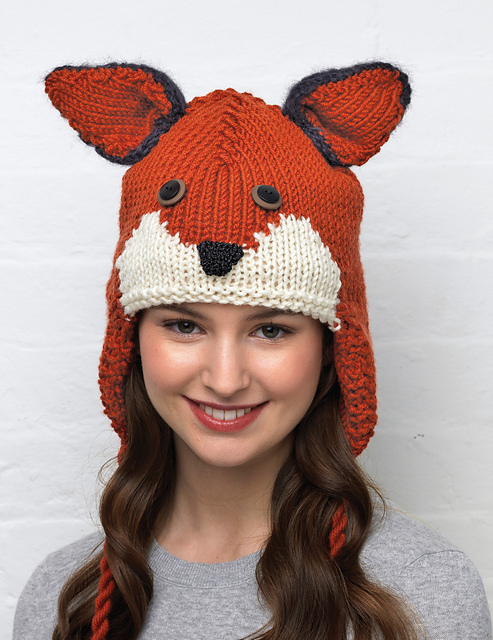 Knitting Patterns Hats Animals : Animal Hats   Tag Hats