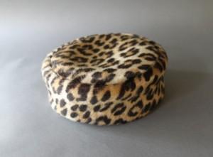 Leopard Pillbox Hat
