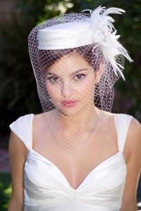 Pillbox Hats with Veil