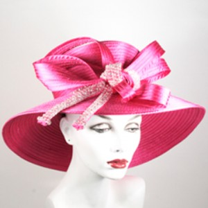 Pink Church Hat