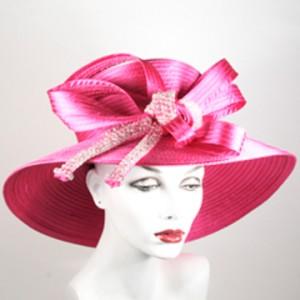 Pink Church Hat