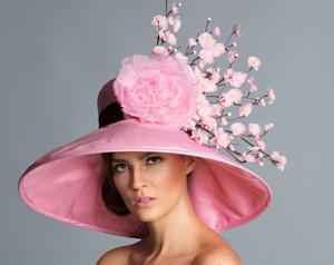 Pink Derby Hats