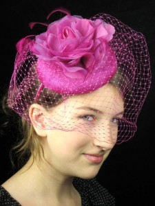 Pink Pillbox Hat