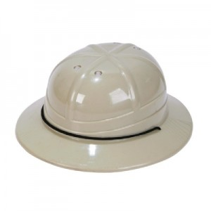 Plastic Safari Hats