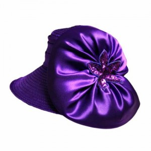 Purple Church Hats