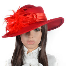 Red Church Hat