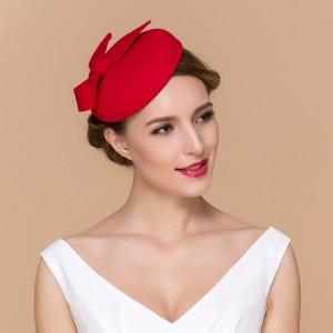 Red Pillbox Hat