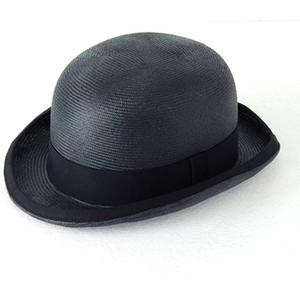 Straw Derby Hat