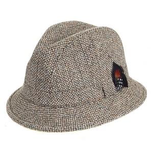Trilby Hat Tweed