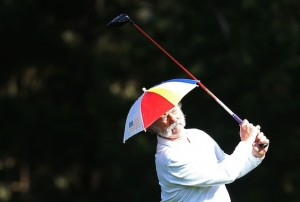 Umbrella Hat Golf