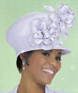 White Church Hat