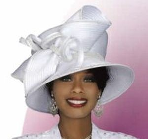 White Church Hats