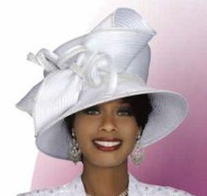 White Church Hats