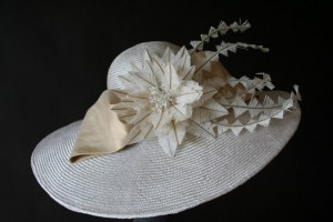 White Derby Hats
