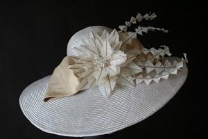 White Derby Hats