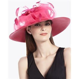 Wide Brim Derby Hat