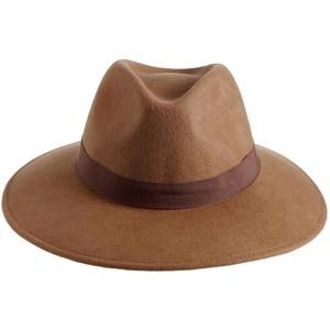 Wide Brim Trilby Hat