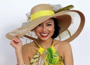 Womens Derby Hats