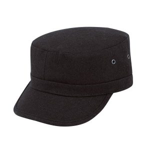 Black Color Military Hats