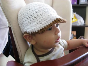 Baby Paperboy Hat