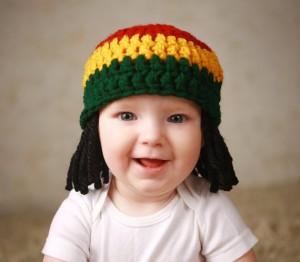 Baby Rasta Hat