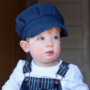 Baby Train Conductor Hat