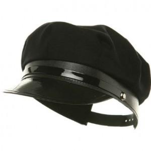 Black Chauffeur Hat