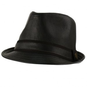 Black Leather Hats