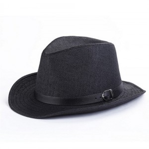 Black Panama Hat Mens