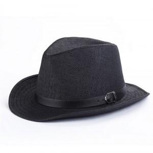 Black Panama Hat Mens