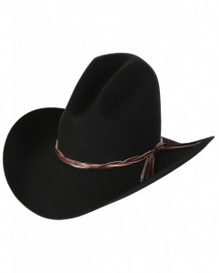 Black Ten Gallon Hat