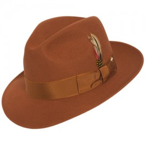 Brown Fedora Hat Mens