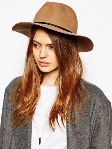 Brown Fedora Hat Womens