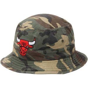 Bulls Bucket Hat Camo