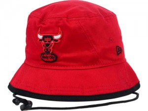 Bulls Bucket Hat with String