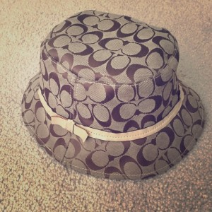 Coach Bucket Rain Hat