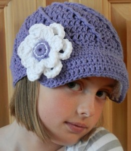 Crochet Paperboy Hat