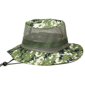 Fishing Bucket Hat with String