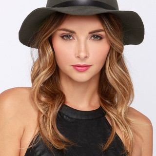 Floppy Wool Fedora Hat